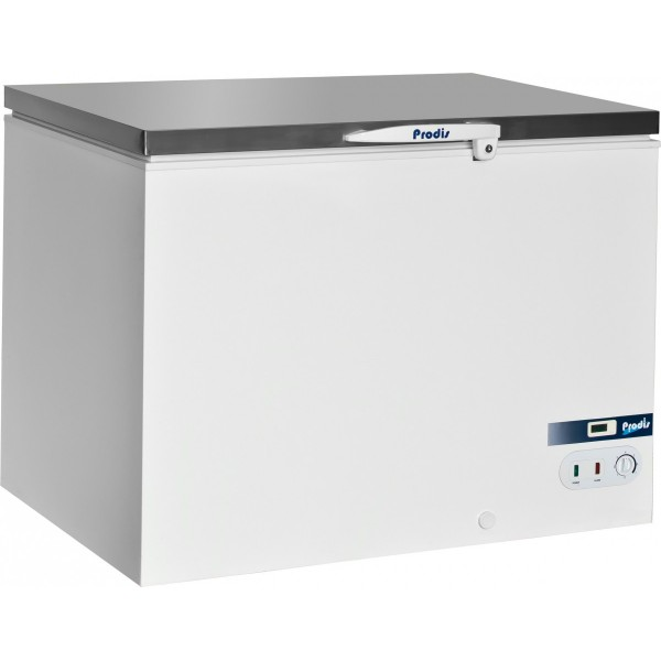 Prodis AR450SS 1.3m Commercial Chest Freezer with Stainless Steel Lid
