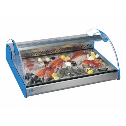 Tecfrigo Azzurra 3 3 x 1/1 Pan Counter Top Fish Display