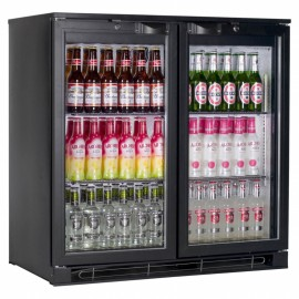 Tefcold BA20 0.9m Double Hinged Door Bottle Cooler