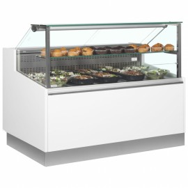 Trimco Brabant 150 1.5m Flat Glass Serve Over Counter
