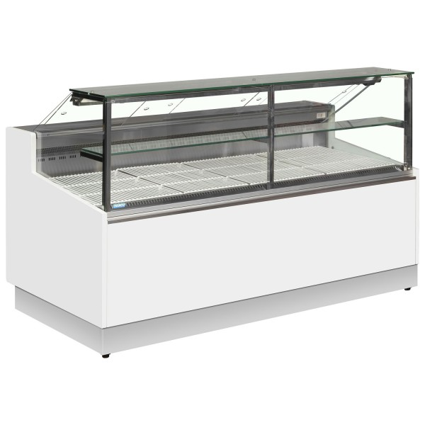 Trimco Brabant 200 2m Flat Glass Serve Over Counter