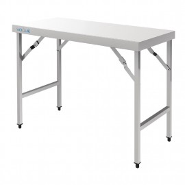 Vogue CB906 1.8m Stainless Steel Folding Table