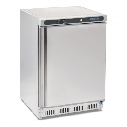 Polar CD081 Stainless Steel Under Counter Storage Freezer