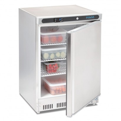Polar CD080 150ltr Stainless Steel Under Counter Fridge