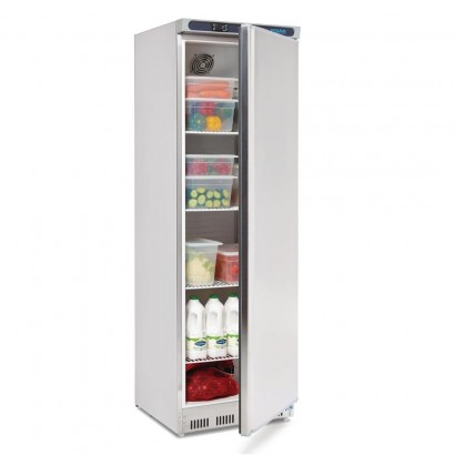 Polar CD082 400ltr Single Door Upright Storage Fridge