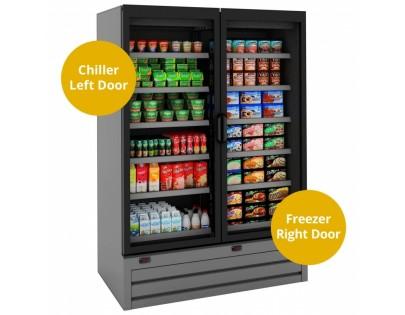 Tefcold Callisto CD140 Double Door Dual Temperature Chiller/Freezer