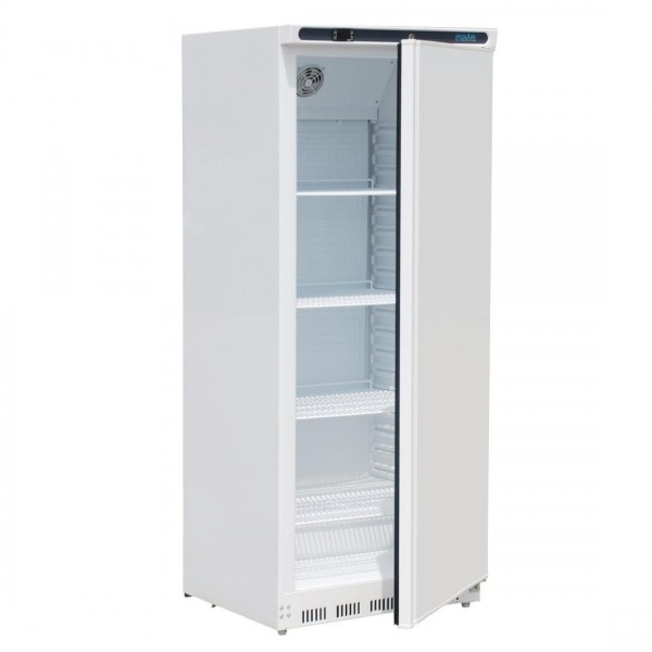Polar CD614 600ltr Upright Storage Fridge White