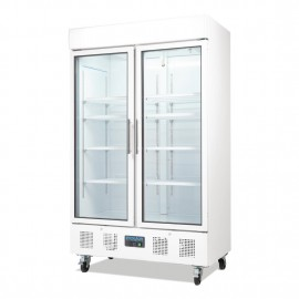 Polar CD984 944 Litre Double Door Display Fridge