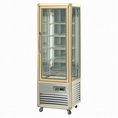 Tecfrigo Continental 350Q Wire Shelved Upright Cake Fridge