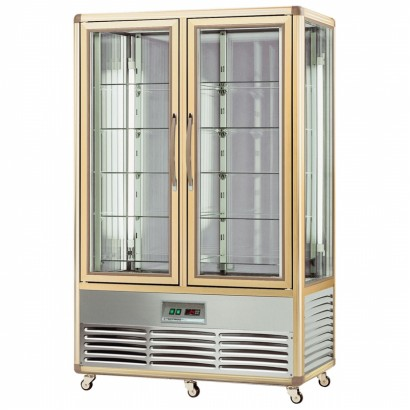 Tecfrigo Continental 700G 700 Litre Upright Glass Shelved Cake Display