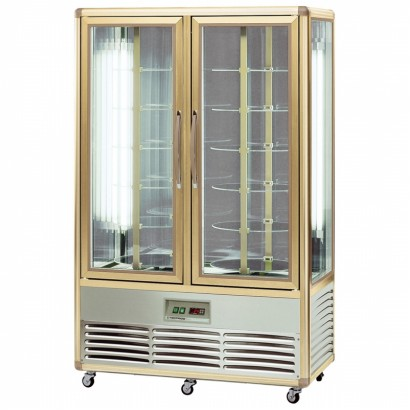 Tecfrigo Continental 700R 700 Litre Rotating Shelved Double Door Cake Display