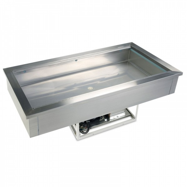 Tefcold CW4 1.4m Stainless Steel Buffet Display