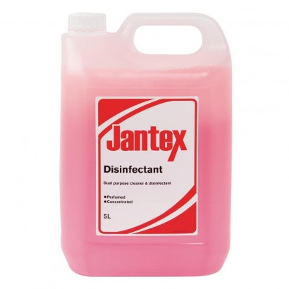 Jantex CW709 5ltr Cleaner and Disinfectant Concentrate (Pack of 2)