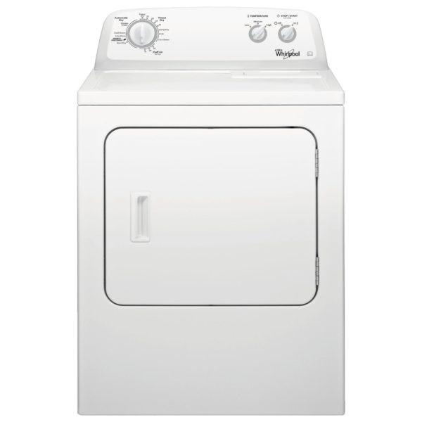 Whirlpool 3LWED4705FW Classic Range Dryer