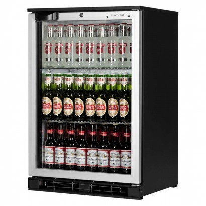 Tefcold BA10 AL Single Door Bottle Cooler Silver Door