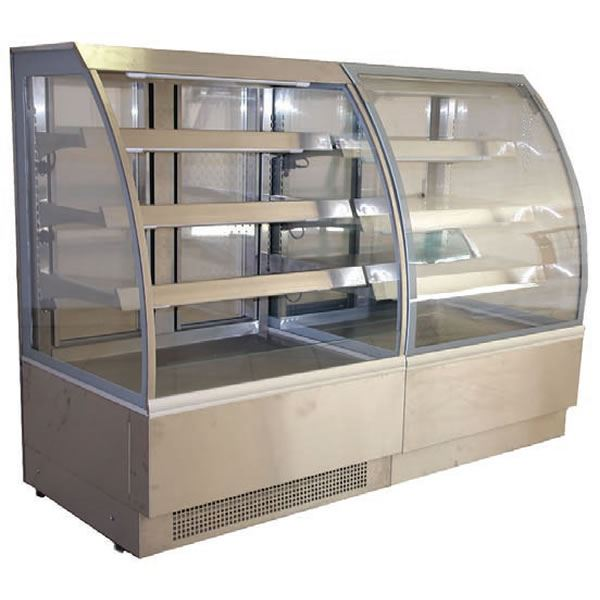 Alpine Vienna-60-R Open Deck 0.6m Display Fridge