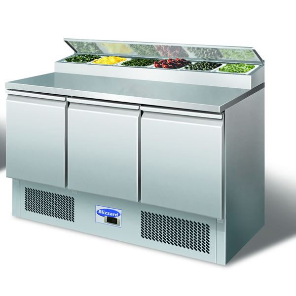 Blizzard BCC3EN 3 Door Compact Prep Counter