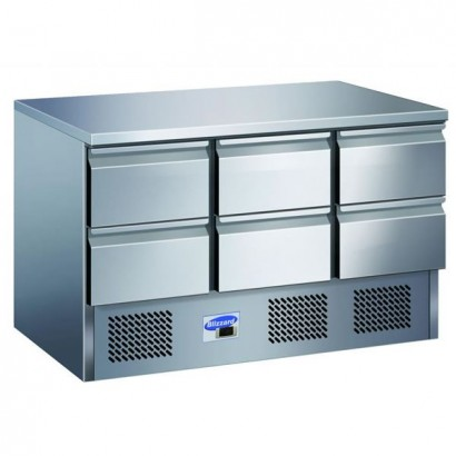Blizzard BCC3-6D Compact Counter with 6 Drawers
