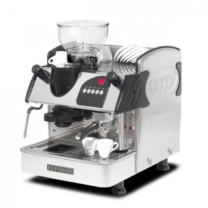 Expobar Markus Plus 1 Group Commercial Coffee Maker with Grinder