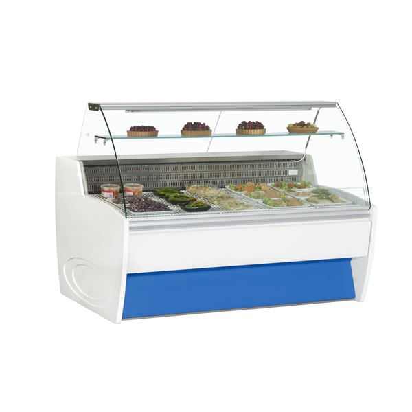 Frilixa Maxime 15 1.5m Fresh Meat Curved Glass Serve Over Counter