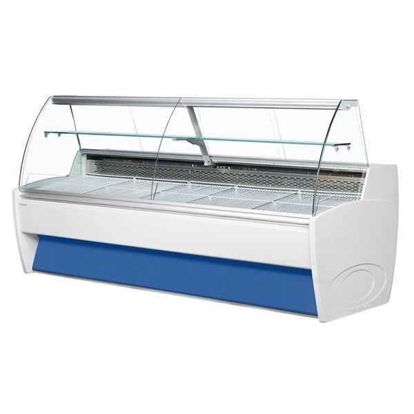 Frilixa Vista 30 2.9m Curved Glass Serve Over Counter