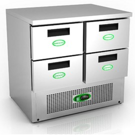 Genfrost G901/4D 4 Drawer Fridge Counter