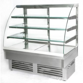 Igloo Jamaica JA130W 1.3m Stainless Steel Pastry Case