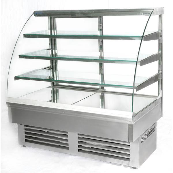 Igloo Jamaica JA130W 1.3m Stainless Steel Pastry Case