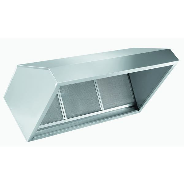 INOMAK FT200 2m Wall Exhaust Hood