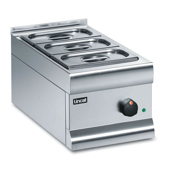 Lincat Silverlink BM3W 3 Pan Electric Wet Heat Bain Marie
