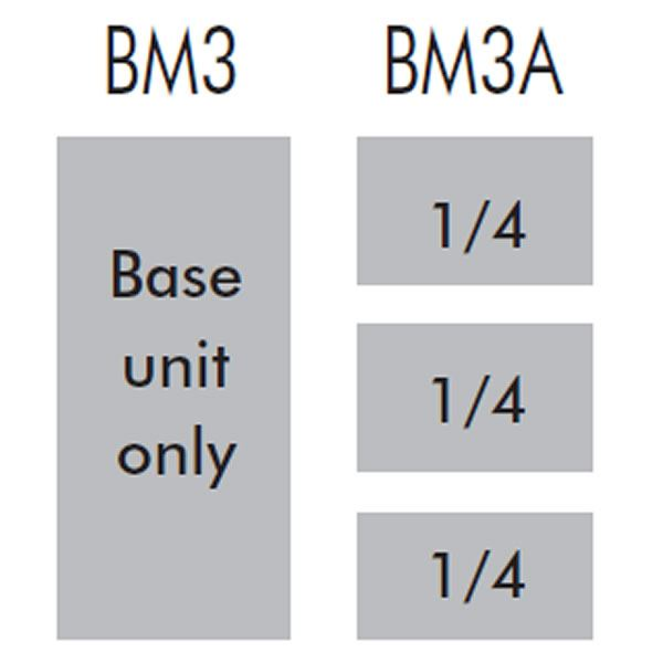 Lincat Silverlink BM3 3 Pan Electric Bain Marie