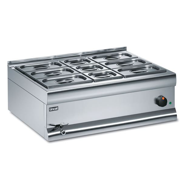 Lincat Silverlink BM7BW 7 Pan Electric Wet Heat Bain Marie