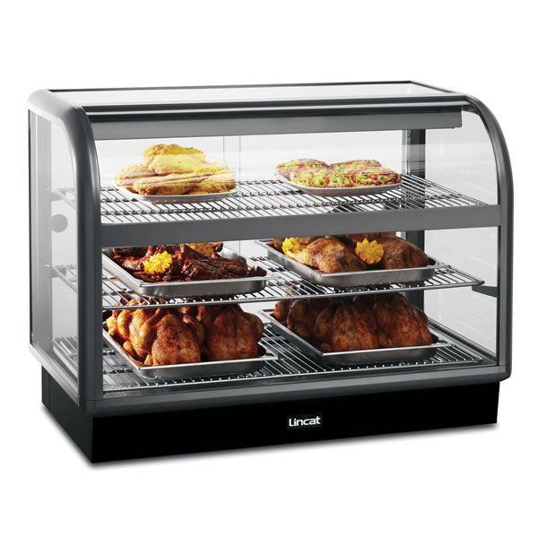 Lincat 650 C6H/100B 1.0m Back Service Heated Display