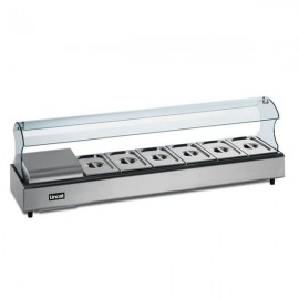 Lincat FDB6-SSG6 6 Pan Self Service Food Display Bar