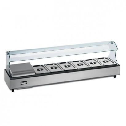 Lincat FDB4-SSG4 4 Pan Self Service Food Display Bar