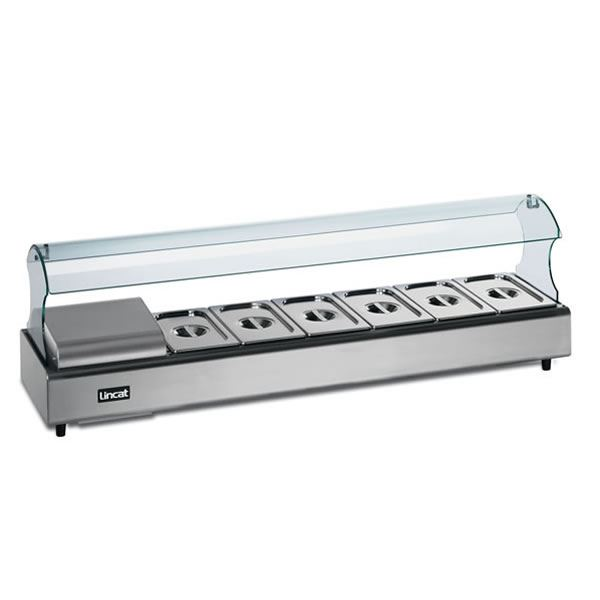 Lincat FDB4-SSG4 4 Pan Self Service Food Display Bar