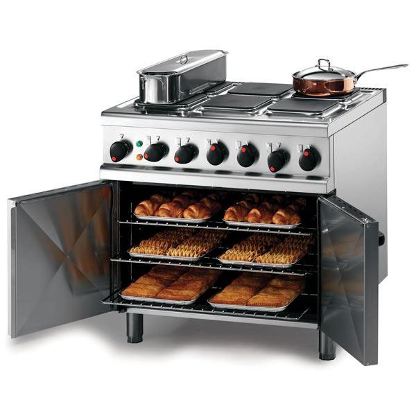 Lincat OE7008 0.9m Opus 700 Electric 6 Plate Oven Range