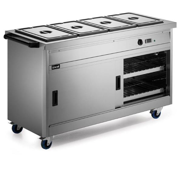 Lincat P6B2 0.9m Panther 670 Series Hot Cupboard with Bain Marie