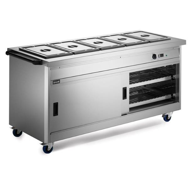 Lincat P8B3 1.1m Panther 800 Series Hot Cupboard with Bain Marie