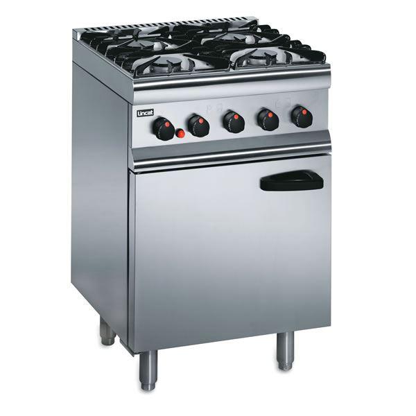 Lincat Silverlink SLR6 0.6m 4 Burner Gas Oven Range