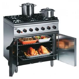 Lincat Silverlink SLR9 0.9m 6 Burner Gas Oven Range