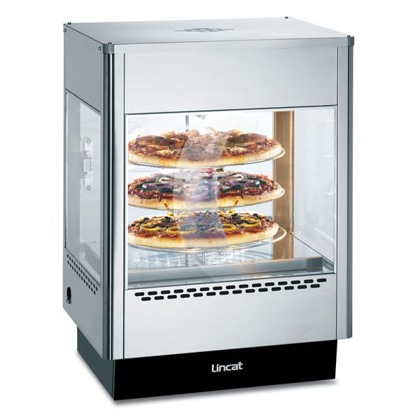 Lincat UMS50 Seal Upright Static Shelved Heated Merchandiser