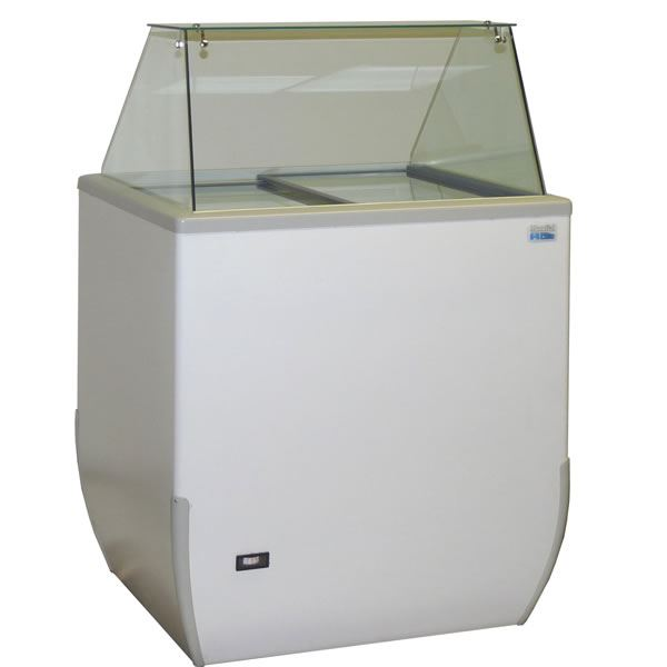 Mondial Elite BRIO 4 Pan Ice Cream Display Freezer