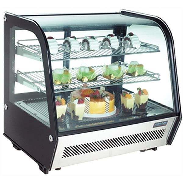 Polar CD230 160 Litre Refrigerated Counter Top Display Chiller