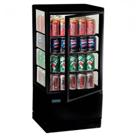 Polar G211 68 Litre Chilled Display Cabinet in Black