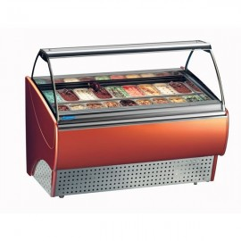 Tecfrigo Gran Gala 12 12 Pan Ice Cream Display Freezer