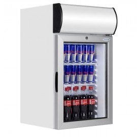 Tefcold FS80CP 84 Litre Counter Top Display Fridge