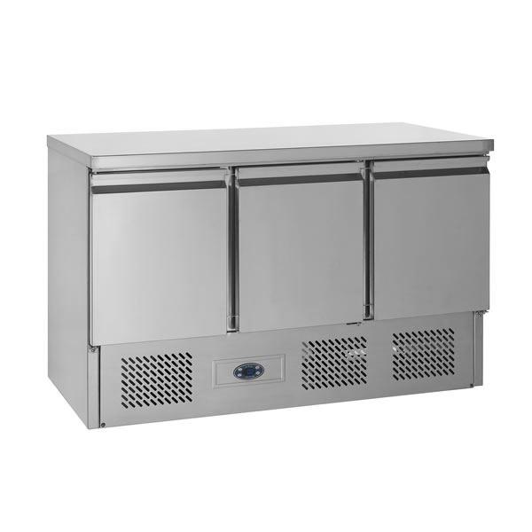 Tefcold SA1365 3 Door Compact Counter