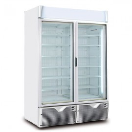 Framec EXPO1100NV Double Door Display Freezer
