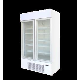 Kool F900 Double Door Upright Display Freezer